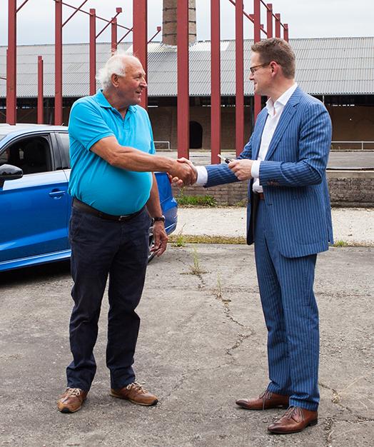 in2leasing Willem Hardeman Audi 3